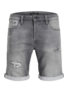 Jack & Jones Korte broek JJIRICK JJICON SHORTS GE 033 I.K. S 12135540 Grey Denim