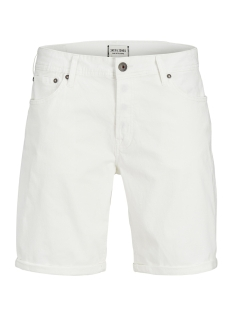 Jack & Jones Korte broek JJIRICK JJORIGINAL SHORTS WW 12132687 Blanc de Blanc