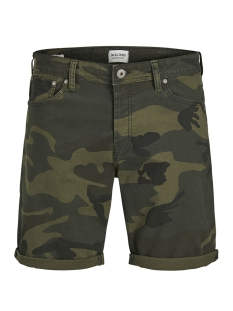 Jack & Jones Korte broek JJIRICK JJORIGINAL SHORTS WW 12132687 Forest Night