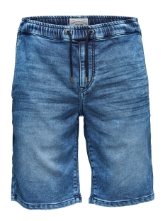 Only & Sons Korte broek onsLINUS JOG SHORTS BLUE PK 9062 22009062 Blue Denim