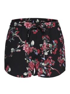 Only Korte broek onlTURNER AOP SHORTS WVN NOOS 15157662 Black/ Flower