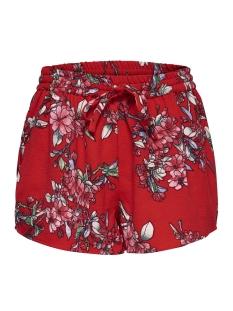 Only Korte broek onlTURNER AOP SHORTS WVN NOOS 15157662 High Risk Red/Flower