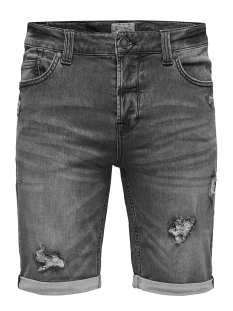 Only & Sons Korte broek onsBULL SHORTS PK 9868 NOOS 22009868 Grey Denim