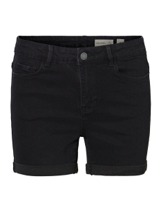 Vero Moda Korte broek VMHOT SEVEN NW DNM FOLD SHORTS MIX 10193079 Black