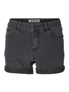 nmbe lucy nw den fold shorts gu812 noos 27001882 noisy may korte broek dark grey denim