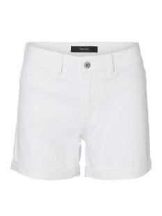 Vero Moda Korte broek VMHOT SEVEN NW DNM FOLD SHORTS MIX 10193079 Bright White