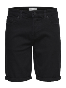 Only & Sons Korte broek onsPLY SHORTS BLACK P PK 9316 22009316 Black Denim