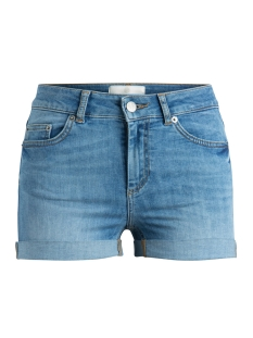 Pieces Korte broek PCFIVE DELLY  B320 MW SHORTS LBLD 17080658 Light Blue Denim