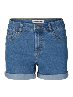 Noisy may Korte broek NMBE LUCY NW DEN FOLD SHORTS GU814 27001883 Medium Blue Denim