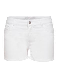 Only Korte broek onlLANEY REG COLOUR SHORTS BOX PNT 15156516 White