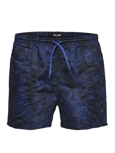 Only & Sons Sport short onsLAUST SWIMSHORTS AOP NT 9056 22009056 Dark Sapphire/ Blue