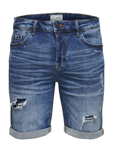 Only & Sons Korte broek onsPLY SH MED BLUE (6687) 0626 PA NOOS 22010626 Medium Blue Denim
