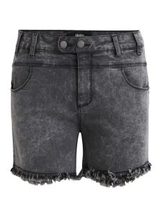 Object Korte broek OBJSUP-C MW RAW EDGE SHORTS BL&GR 23026944 Medium Grey Denim