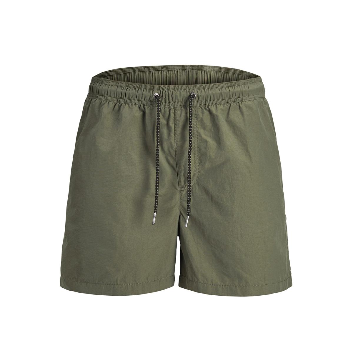 jjisunset swim shorts akm noos 12133191 jack & jones sport short olive night