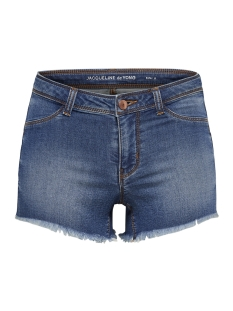 Jacqueline de Yong Korte broek JDYHARMONY SHORTS MED BLUE DNM 15149458 Medium Blue Denim
