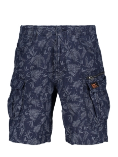Superdry Korte broek M71001GQ Palm Leaf Chambray AOP(RS7)
