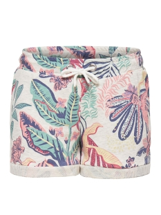 Only Korte broek onlLEXI AOP SHORTS SWT 15156798 Oatmeal/Trophical