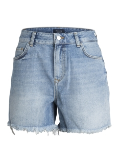 Pieces Korte broek PCMOM ELLA HW SHORTS LB101-BA 17092832 Light Blue Denim