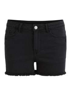Vila Korte broek VIRUSTY RW CUTOFF BLACK SHORTS 14046854 Black