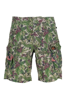 Superdry Korte broek M71001GQ Jungle Camo Ripstop AO