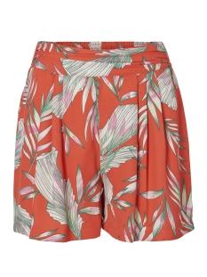 Vero Moda Korte broek VMMAHARETE SHORTS 10198682 Poppy Red/MAHARETE