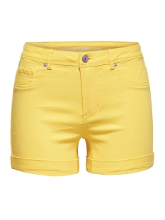 Jacqueline de Yong Korte broek JDYFIVE SUMMER SHORTS DNM 15149521 Primrose Yellow