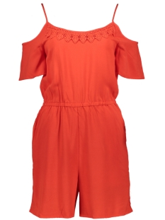 Only Jumpsuit onlTINA STRAP PLAYSUIT WVN 15157569 Flame Scarlet
