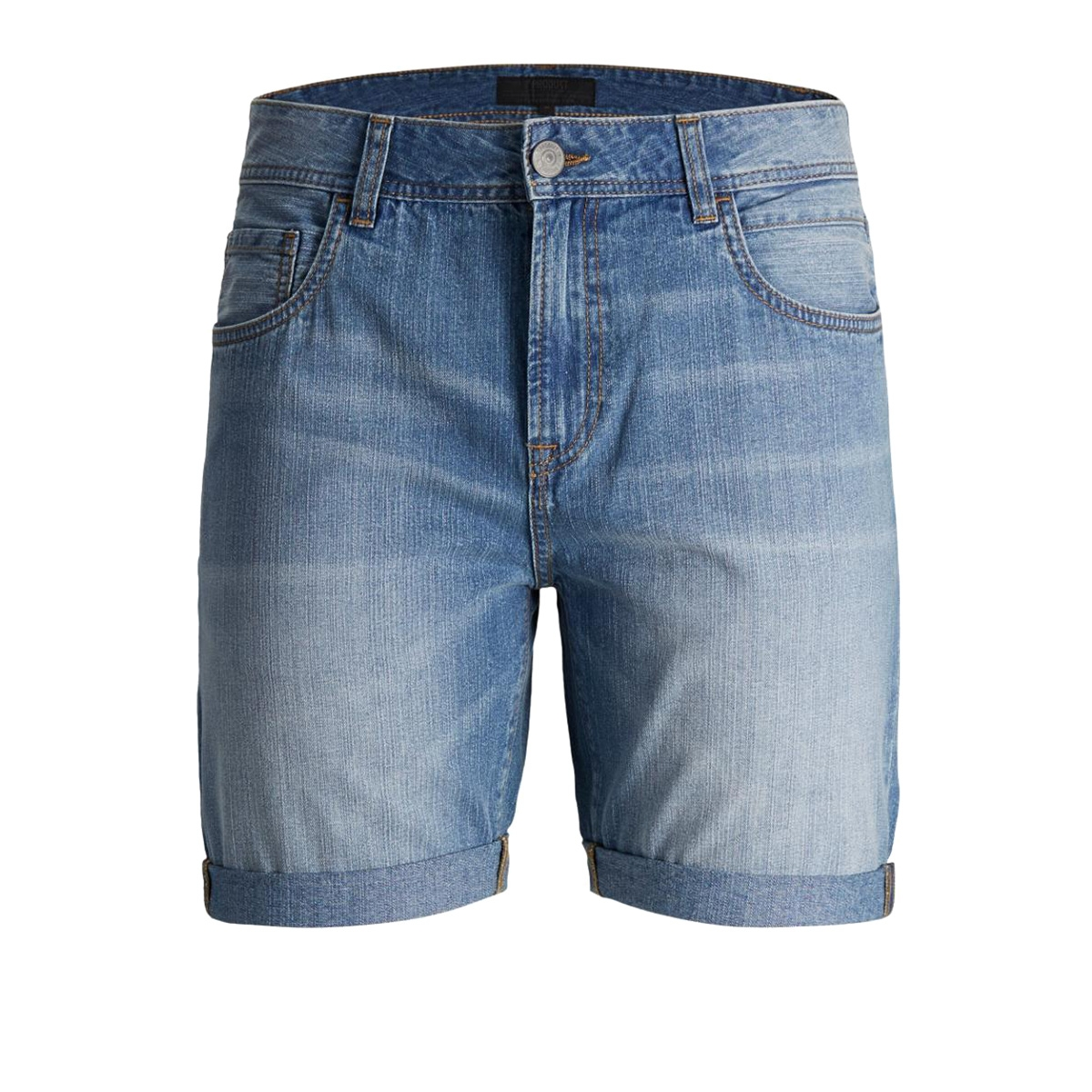 pktakm reg shorts b-59 12134572 produkt korte broek light blue denim