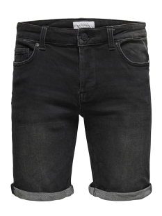 Only & Sons Korte broek onsPLY LD BLACK WASHED PK 2443 22012443 Black Denim