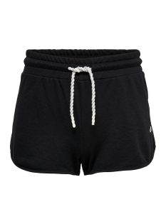 Only Play Sport short ONPMATHILDA SWEAT SHORTS 15166257 Black/W.WHITE