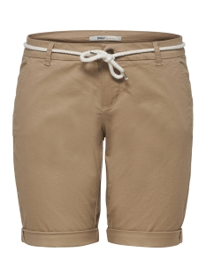 Only Korte broek ONLPARIS L LONG CHI BELT SHORTS PNT 15134356 Nomad