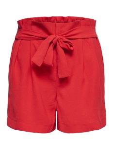 onlnew florence shorts pnt 15174156 only korte broek high risk red