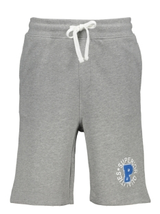 Produkt Korte broek PKTVIY IMAGE SWEAT SHORTS 12149799 Light Grey Melange
