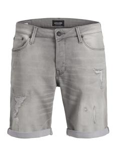 jjirick jjicon shorts ge 852 i.k. 12147067 jack & jones korte broek grey denim