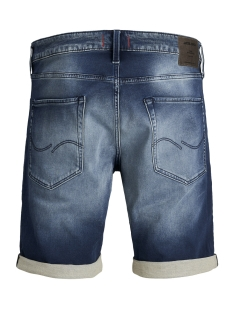 jjirick jjicon shorts ge 854 i.k. 12147069 jack & jones korte broek blue denim