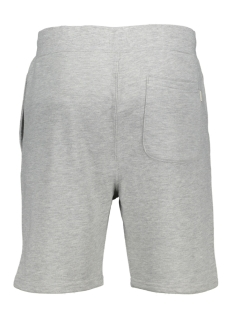 jjebasic sweat shorts sts 12147447 jack & jones korte broek light grey melange/thight fit