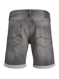 jjirick jjicon shorts ge 848 i.k. s 12148014 jack & jones korte broek grey denim