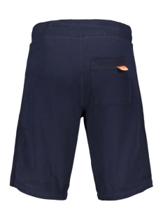 orange label lite short m71103at superdry korte broek royal navy