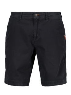 slim chino lite short m71013kt superdry korte broek midnight sky