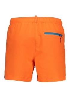 beach volley swim short m30010at superdry korte broek sunblast orange