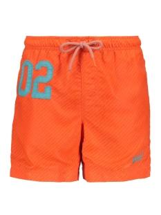water polo swim short m30018at superdry korte broek havana orange