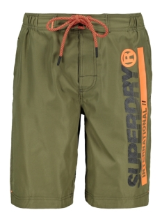 Superdry Korte broek SUPERDRY BOARDSHORT M30015AT MARINE OLIVE