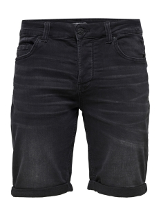 Only & Sons Korte broek onsPLY SW BLACK SHORTS PK 2021 NOOS 22012021 Black Denim