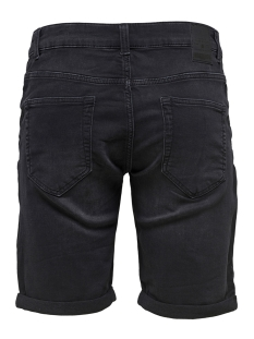 onsply sw black shorts pk 2021 noos 22012021 only & sons korte broek black denim