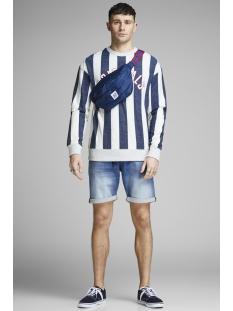 jjirick jjdash shorts ge 929 i.k. s 12147075 jack & jones korte broek blue denim