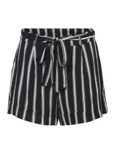 nmmelissa shorts 2 27006194 noisy may korte broek black/snow white