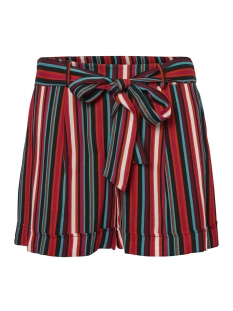 Noisy may Korte broek NMMELISSA SHORTS 2 27006194 Mandarin Red/ Snow White