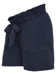 Mama-Licious Positie broek MLBETHUNE WOVEN SHORTS 20008364 Navy Blazer