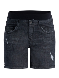 short jeans s0975 supermom positie broek black denim