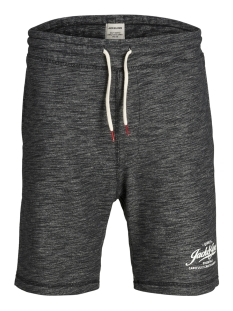 Jack & Jones Korte broek JJEMELANGE SWEAT SHORTS STS 12148566 Black/TIGHT FIT